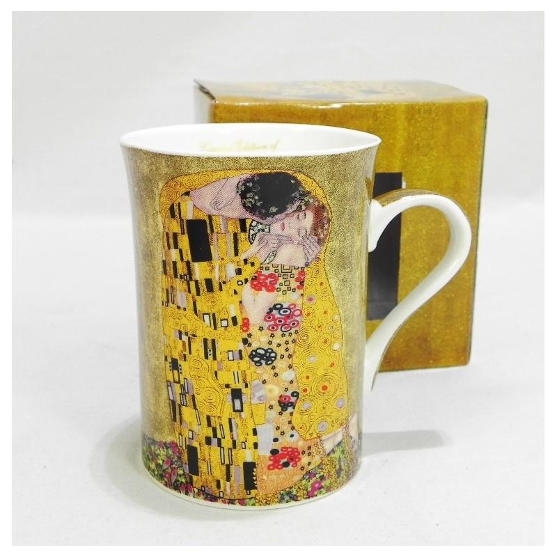 Porcelánový hrnček vzor Klimt