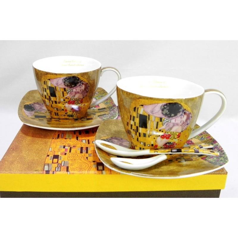 Porcelánová súprava vzor Klimt
