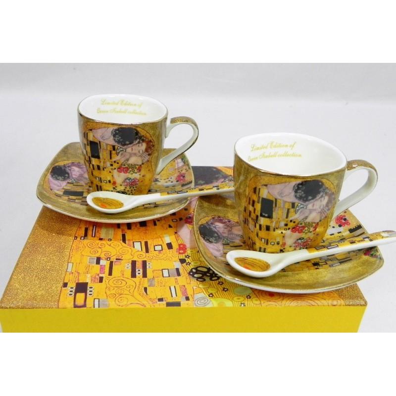 Porcelánová súprava picollo vzor Klimt