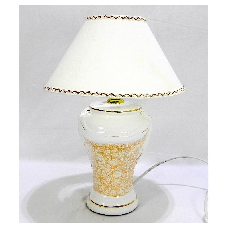 Lampa dekoračná oranžová