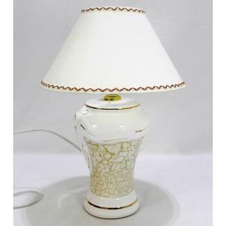 Lampa dekoračná hnedá