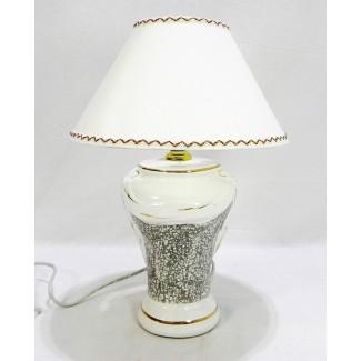 Lampa dekoračná šedá