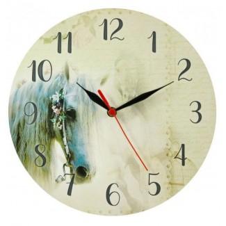 Nástenné hodiny kôň 29cm