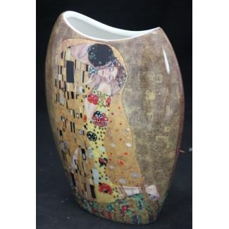 Porcelánová váza vzor Klimt
