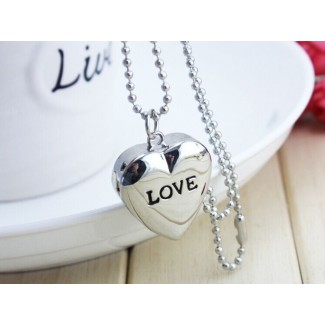 Vreckové hodinky Love strieborné