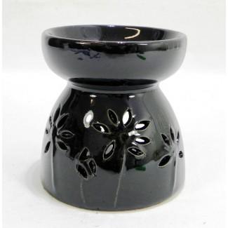 Aromalampa kvety čierna