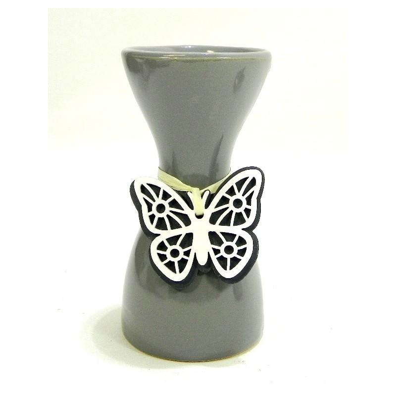 Aromalampa motýlik sivá