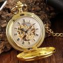 Mechanické vreckové hodinky Jeleň, pohľad na ciferník