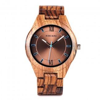 BOBO BIRD drevené náramkové hodinky BBD 004