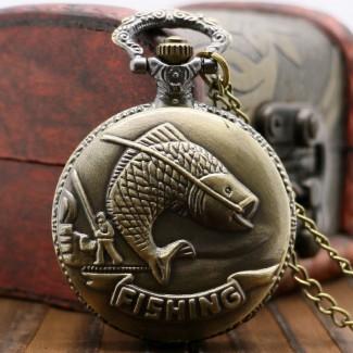Vreckové hodinky Fishing