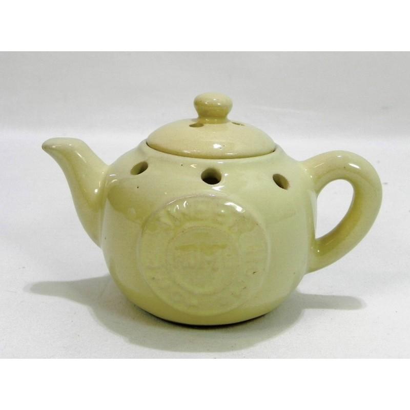 Aromalampa čajník krémová