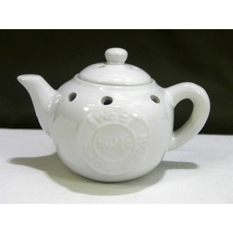 Aromalampa čajník biely