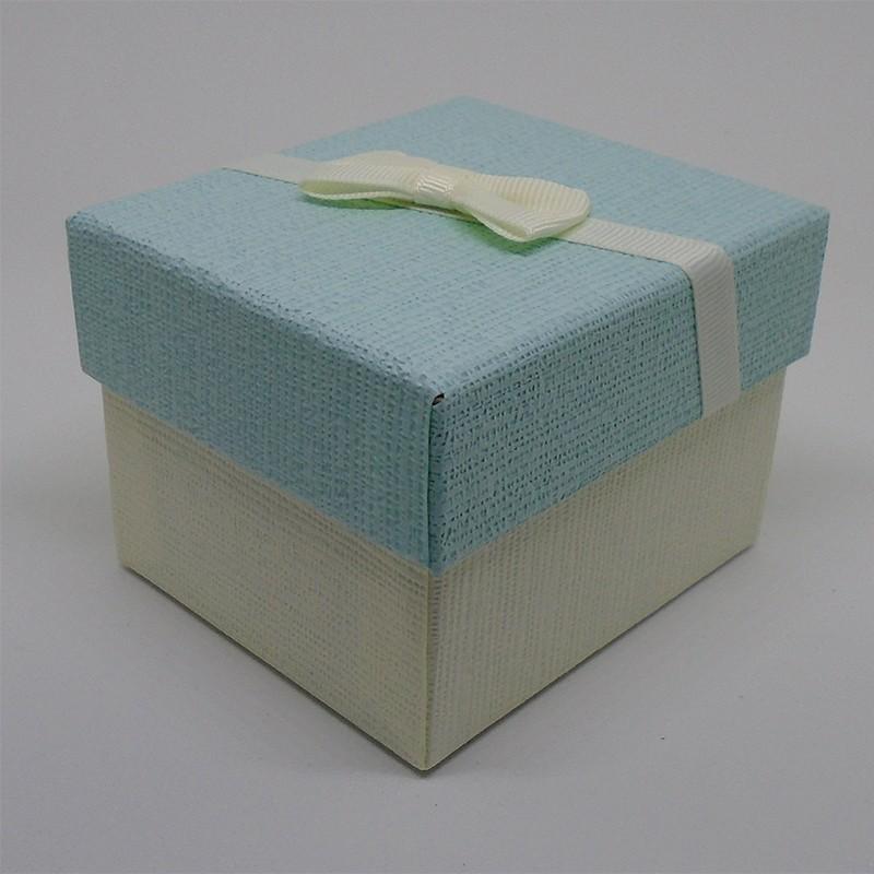 Darčeková krabička svetlomodrobiela