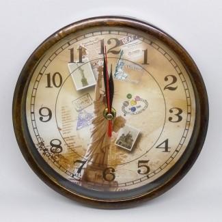 Nástenné hodiny Socha slobody