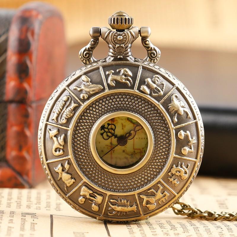 Vreckové hodinky Znamenia zverokruhu