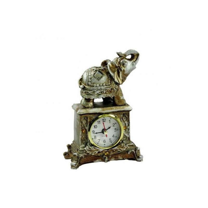 Stolové hodiny slon
