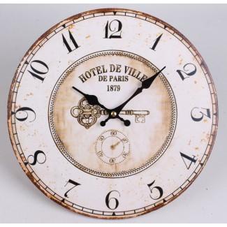 Nástenné hodiny Hotel De Ville 29cm