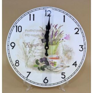 Nástenné hodiny Romantic love 30cm