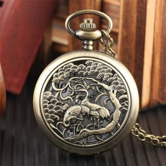 Vreckové hodinky Bociany